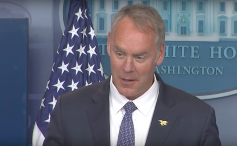 Zinke: One-third of Interior employees not loyal toTrump