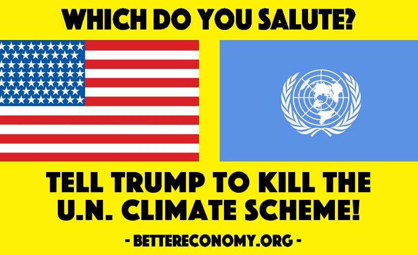Kill the UN ClimateScheme!