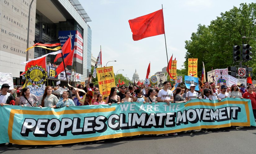 Ahead of Exxon's annual meeting, climate activists gain ground