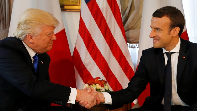 France's Macron urges Trump to avoid hasty climate changedecision