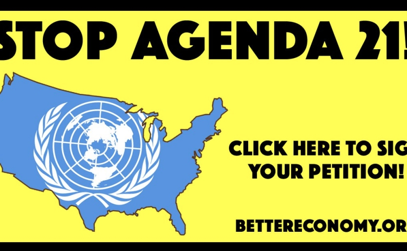 Sign here to Stop Agenda21!