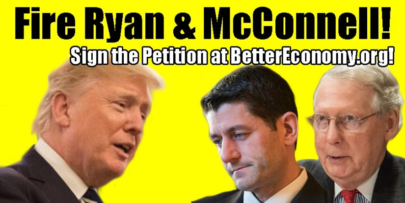 Drain The Swamp! Fire Ryan and McConnell!